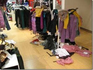 Desastre de tienda